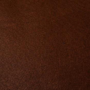 Tissu feutrine marron 180 cm