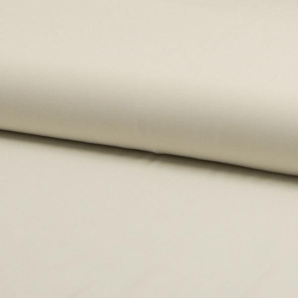 Tissu viscose uni écru 140 cm