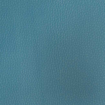 Tissu simili cuir bleu turquoise 140 cm