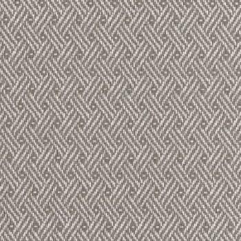 Tissu simili cuir gris effet tressé 140 cm