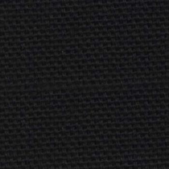 Tissu bachette uni noir 280 cm