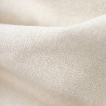 Tissu toile occultant écru effet chiné 150 cm