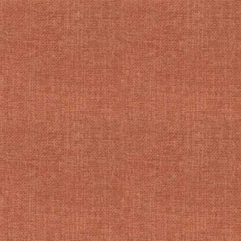 Tissu toile effet chiné occultant terracotta 140 cm