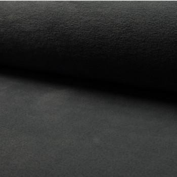 Tissu polaire uni gris anthracite 150 cm