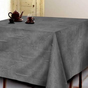 Sous-nappe imprimé béton gris 140 cm