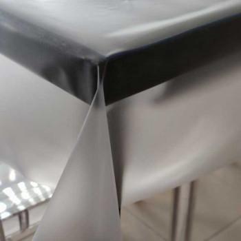 Cristal transparent nacré 140 cm