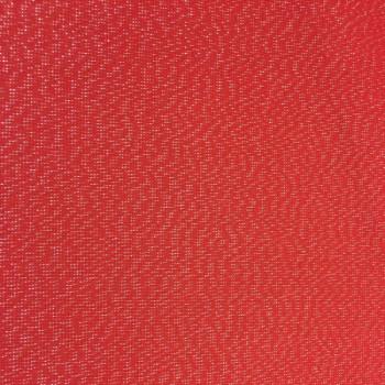 Tissu enduit rouge pailleté 160 cm