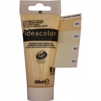 Colorant Idéacolor ultra concentré blanc ivoire 50 ml