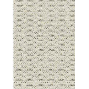 Tapis triangles doré et crème 160 X 230 cm