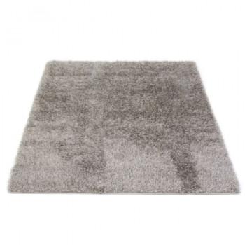 Tapis épais gris 160 x 230 cm