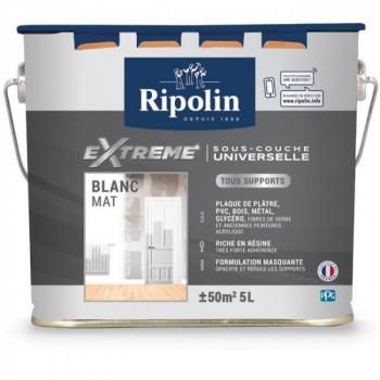 Sous-couche Ripolin universelle extrême mat blanc 5 L