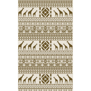 Tapis tissé plat ethnic 160 x 230 cm