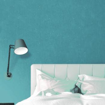 Papier peint Glitter bleu
