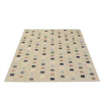 Tapis haut de game structuré écru 140 x 200 cm