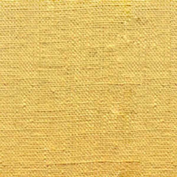 Tissu toile de lin lavé safran 145 cm