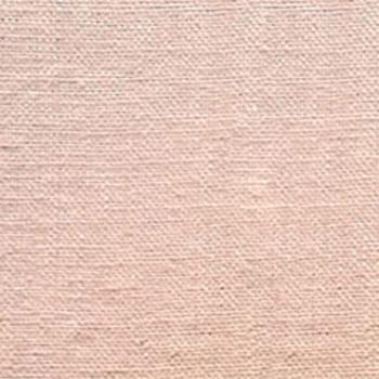 Tissu toile de lin lavé rose 145 cm