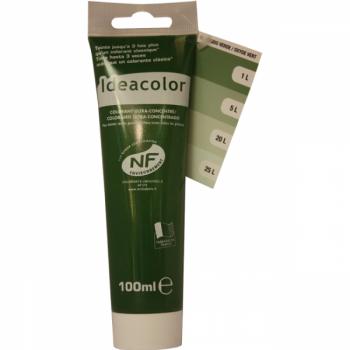 Colorant Idéacolor ultra concentré oxyde vert 100 ml