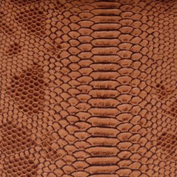 Tissu simili cuir camel 140 cm