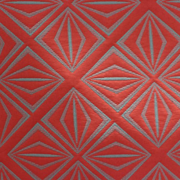Tissu matelassé géométrique gris...