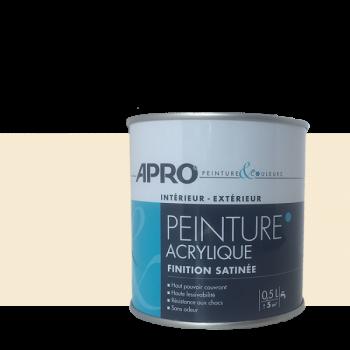 Peinture Apro multi-supports  Murs, plafonds, boiseries, plinthes… beige perle satin 0,5 L