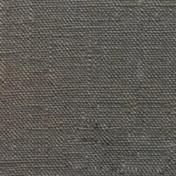 Tissu toile de lin lavé taupe 145 cm