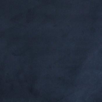 Tissu velours ras uni bleu nuit 140 cm