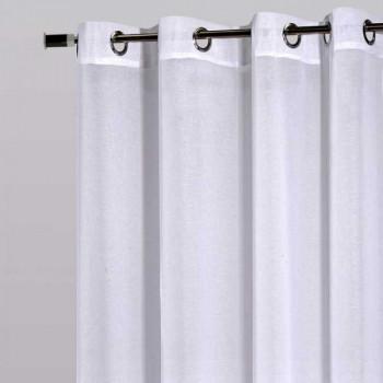Rideau voilage blanc grande dimension