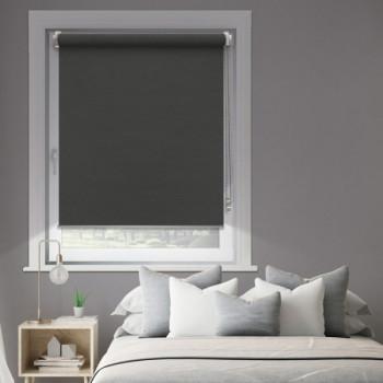 Store enrouleur jour/nuit anthracite 120 x 250 cm