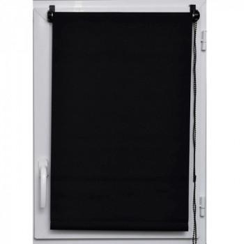 Store enrouleur jour/nuit noir 45 x 180 cm