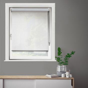 Store enrouleur jour/nuit blanc 37 x 190 cm