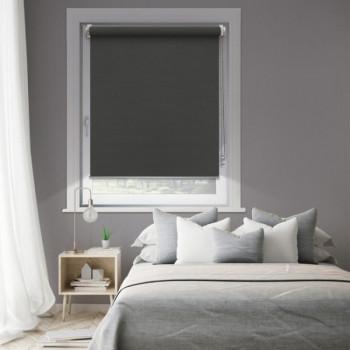Store enrouleur jour/nuit anthracite 62 x 190 cm