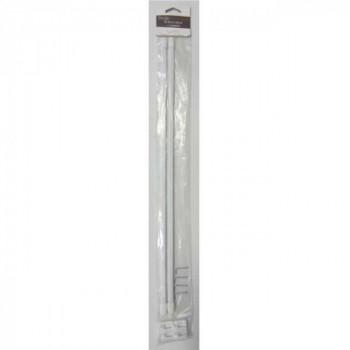 Tringle blanc extensible 50-80 cm