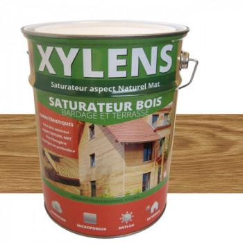 Peinture Xylens saturateur bois ambré mat 5 L