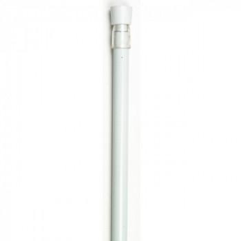 Tringle extensible autobloquante blanche 40-60 cm