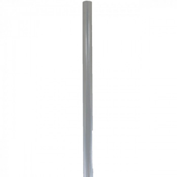 Barre ovale argent 200 cm