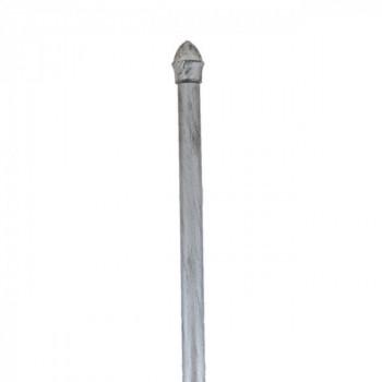 Tringle argent vieilli extensible 135-225 cm