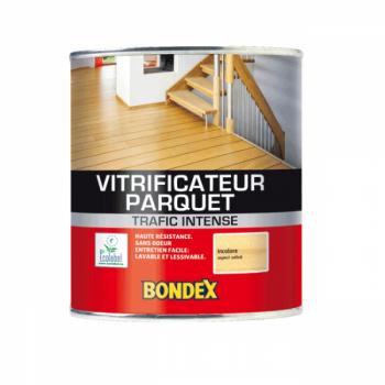 Vitrificateur Bondex spécial parquet chêne ciré satin 0,75 L
