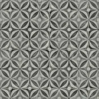 Sol PVC en rouleau gris géométrique 2.60 mm