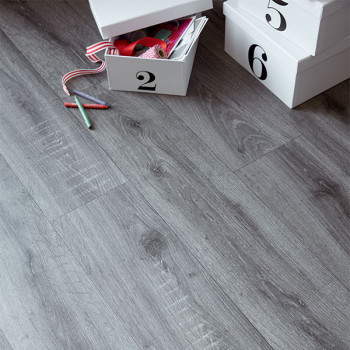 Sol PVC avec support feutre chêne gris ardoise 2.80 mm