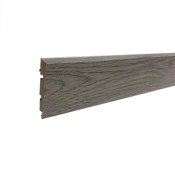 Plinthe smartfinish chêne gris montagne 58 x 12 x 2400 mm