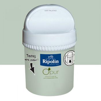 Peinture Ripolin Opur multi-supports vert palatino satin 75ML