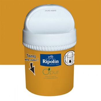 Peinture Ripolin Opur multi-supports jaune ambre satin 75ML