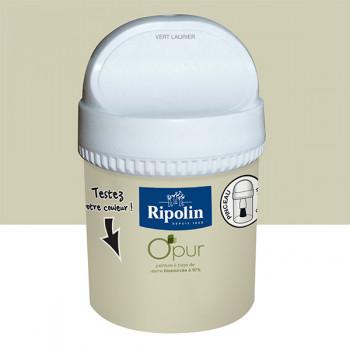 Peinture Ripolin Opur multi-supports vert laurier satin 75ML