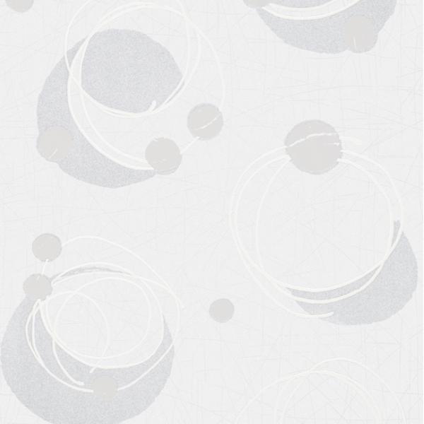Papier peint intissé spirale gris