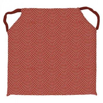 Galette de chaise carré PAON tomette 40x40cm