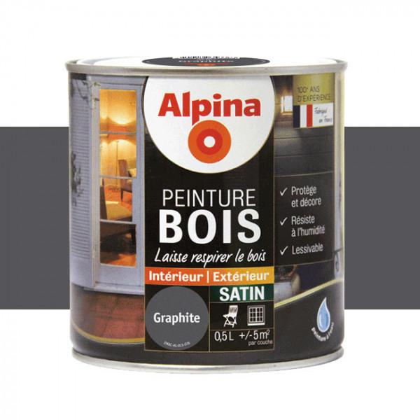 Peinture Alpina spéciale bois satin...