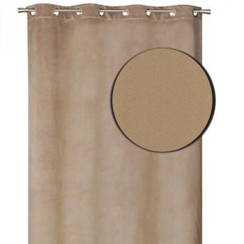 Rideau isolant thermique beige