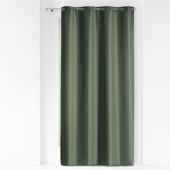 Rideau vert kaki métallique