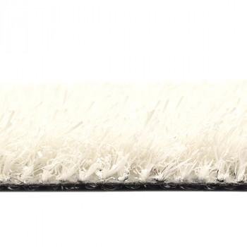 Gazon synthétique blanc 24 mm en 4 mètres
