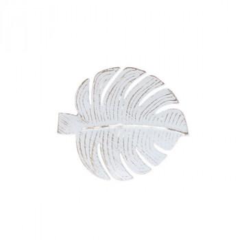 Paire de pinces métal acapulco blanc